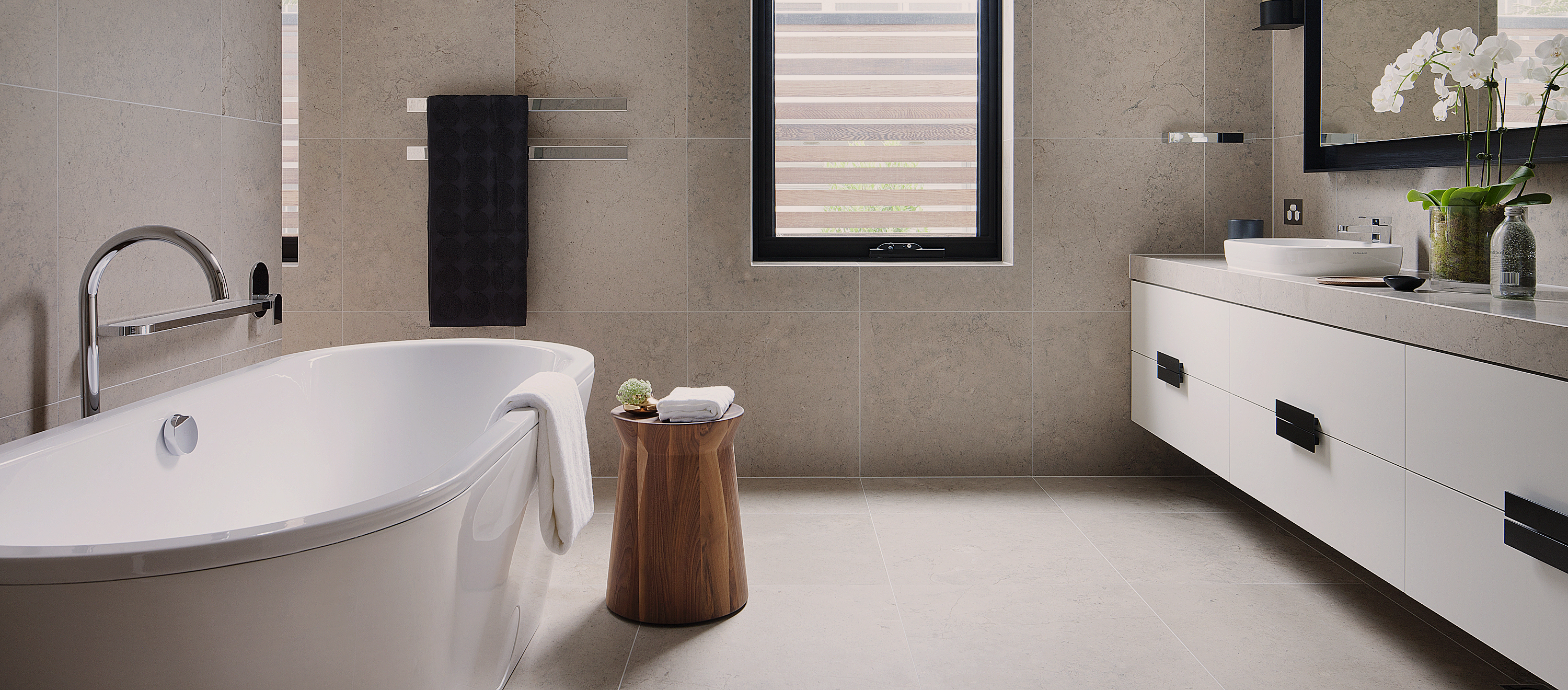 Exquisite tile and stone solutions for Melbourne's leading builders, developers & architects.